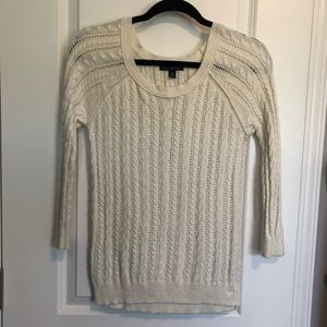 American Eagle Cable Knit Sweater XS